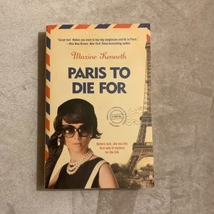 *Paris to Die For* Paperback Book Good condition!